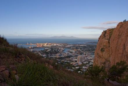View of Townsville from Castle Hill
