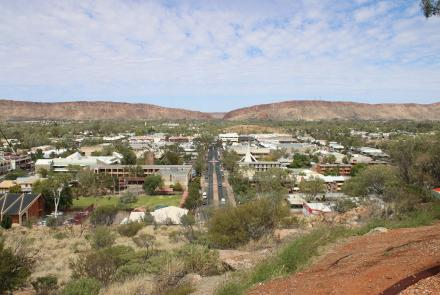 Alice Springs from Anzac Hill (Image: Craig Greene).