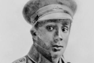 William Rawlings, a Victorian Aboriginal man who enlisted at Warrnambool on 14 March 1916. Serving in the 29th Battalion on the Western Front, Rawlings was awarded the Military Medal for his feats during successful advances along Morlancourt Ridge on 28-29 July 1918. Ten days later he was killed in action at Vauvillers (Image AWM).