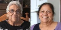Valerie Hinton & Gladys Constantine